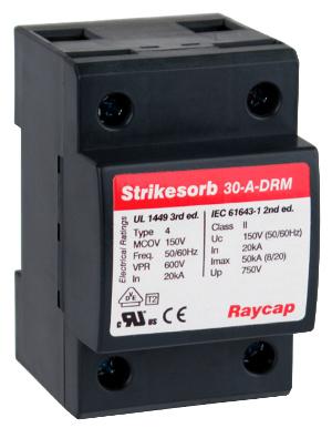 Protección contra sobretensiones (SPD) para cuadros eléctricos en aplicaciones de alta seguridad