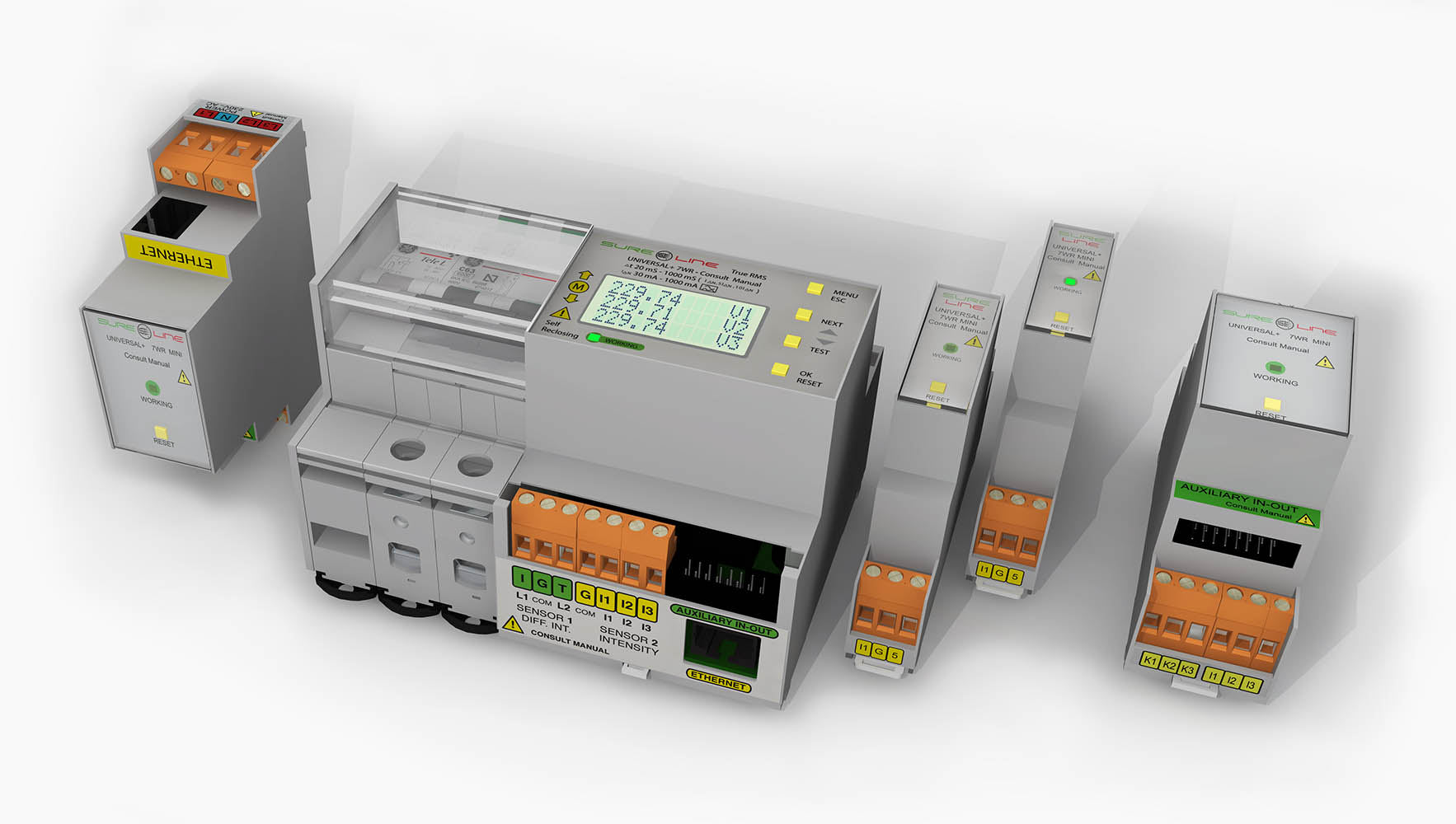 Protección diferencial y magnetotérmica que permite la reconexión de los contadores digitales de compañía actuales.