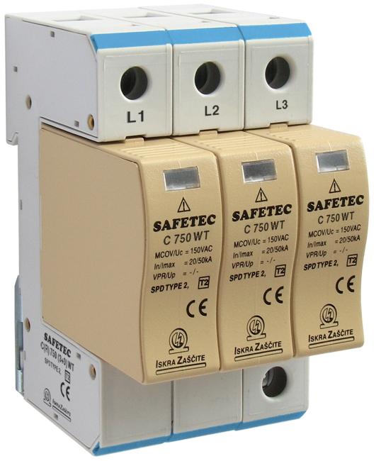 SAFETEC C(R) 750-880 V para Wind