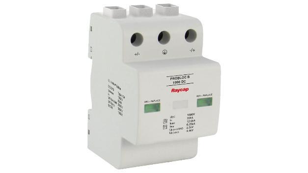 Protector de sobretensiones para sistemas de almacenamiento con batería y cargadores de coche