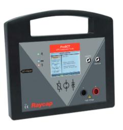 Comprobador portátil del estado de las protecciones. ProSCT