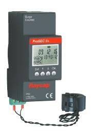 Contador de Sobretensiones: ProSEC II+ (Alimentado por baterías)