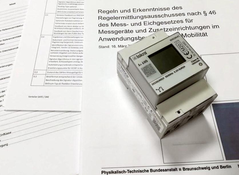 Medidores de energía con certificado MID para estaciones de carga eléctrica