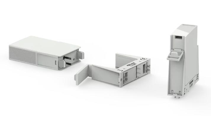 Bases para módulos protectores contra sobretensión monopolo en PCB
