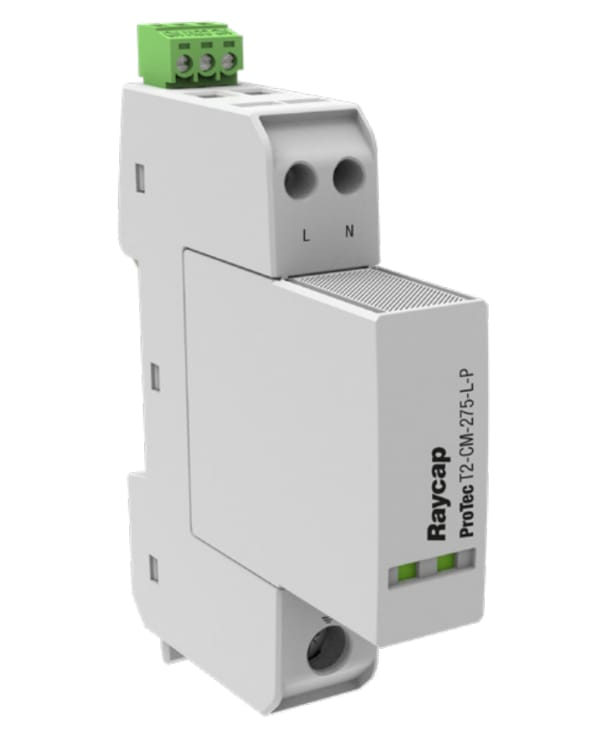 Dispositivos de protección (SPD) multipolo de Clase II+III y Tipo2+3